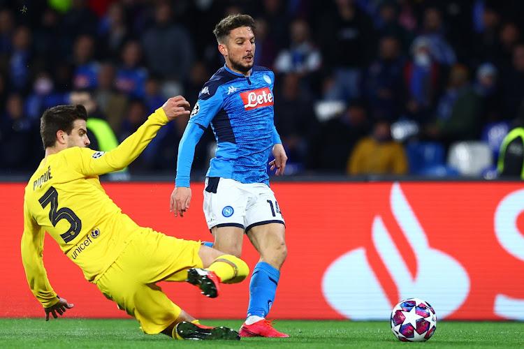 Dries Mertens et le Napoli motivés par l'Europa League
