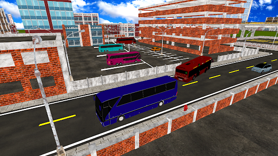 City Coach Bus Parking Simulator Driving School - náhled