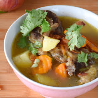 Oxtail soup (Malaysian style).