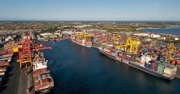 Морской порт Сидней
