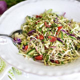 Lebanese Cole Slaw, Malfouf Salad.