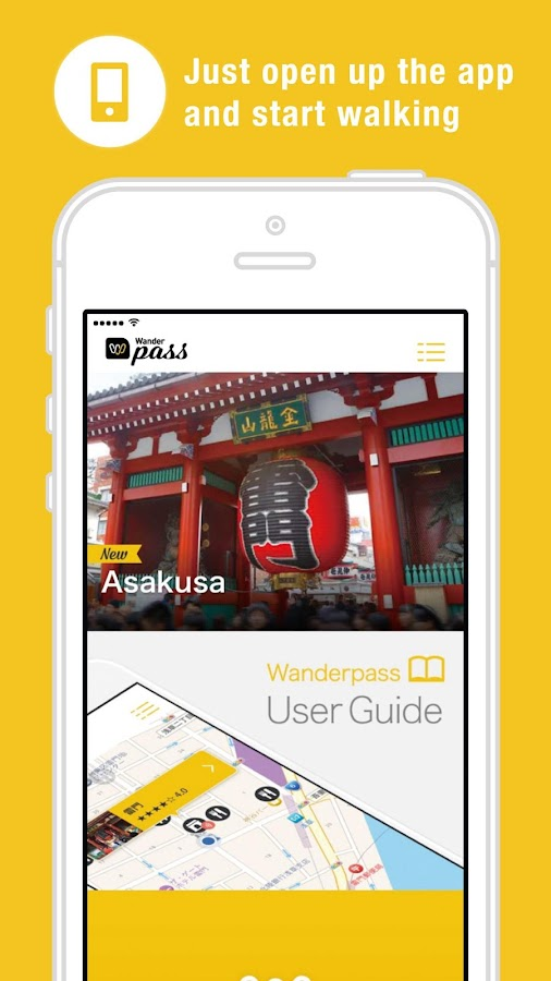 Wanderpass: Japan Audio guide- screenshot