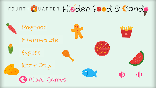 Hidden Food and Candy
