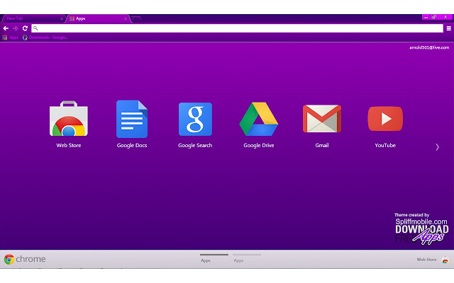 Vivacious purple chrome web store vivacious purple theme for chrome this theme is free to download comes with free lifetime updates chrome themes altavistaventures