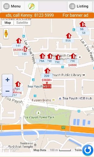 Realapps Real Estate Map