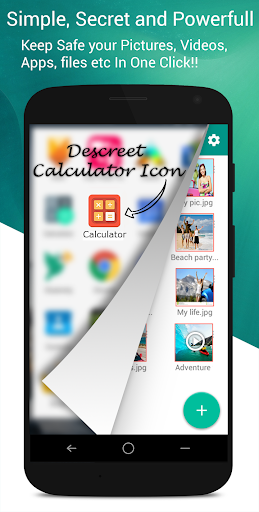Calculator Vault- Gallery Lock 15.0 screenshots 1