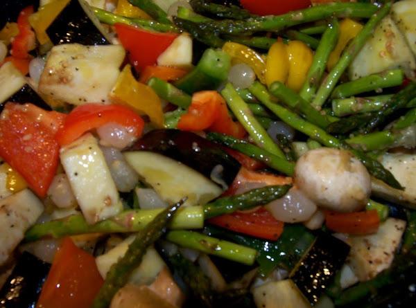 Garlic Roasted Vegetables Recipe