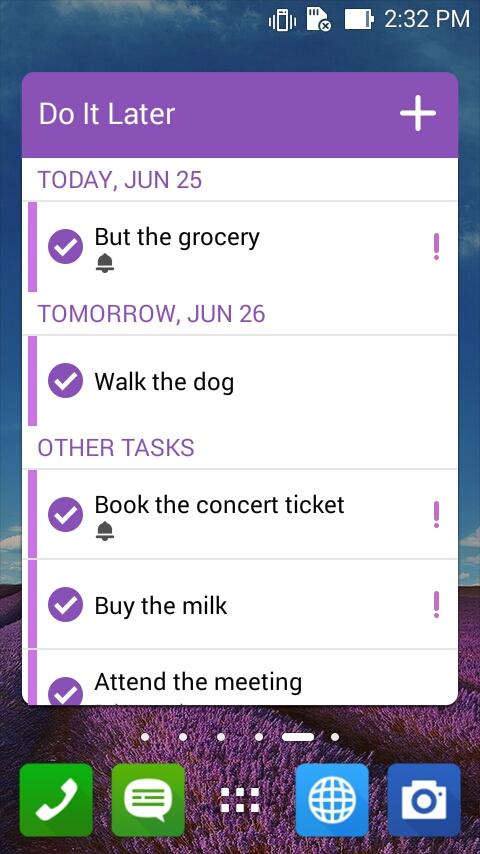 Do It Later: Tasks & To-Dos- screenshot