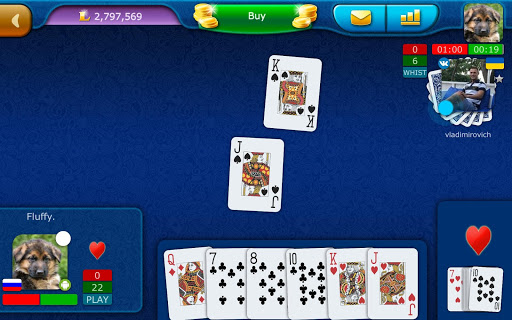Clabber LiveGames - free online card game screenshots 13