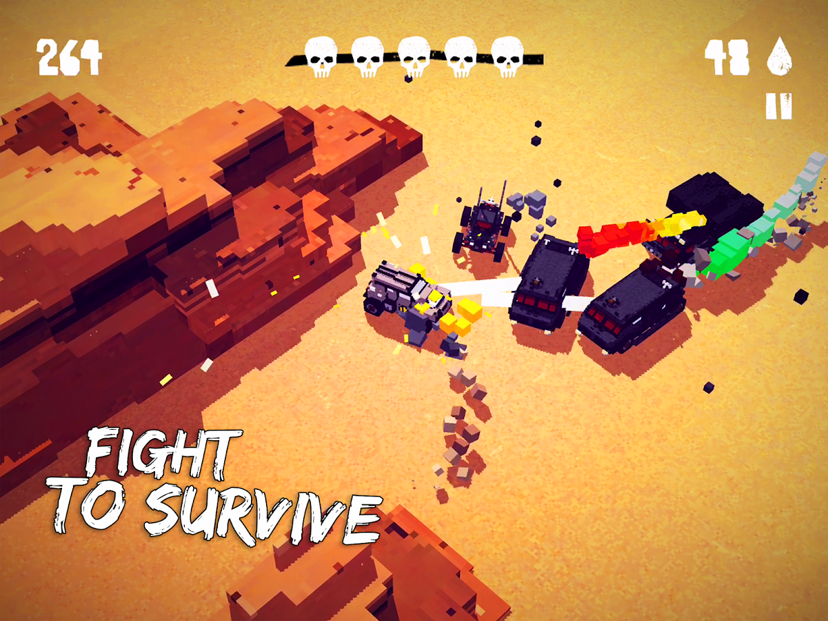 Fury Roads Survivor- screenshot