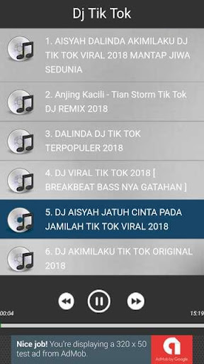Dj Tik Tok 2018 1.0.0 screenshots 4