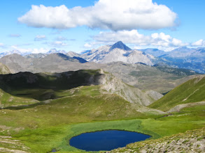 Photo: op de Col de Peas 2629m
