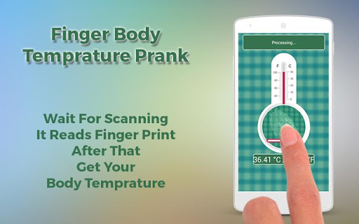 Finger Body Temprature Prank 1.0 screenshots 6