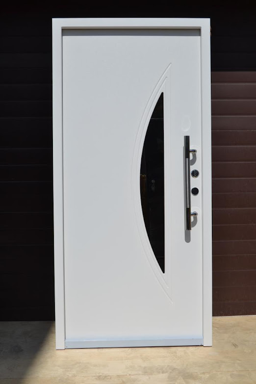 nr 1 wohnungst ren haust ren glaseinsatz moderne t r. Black Bedroom Furniture Sets. Home Design Ideas