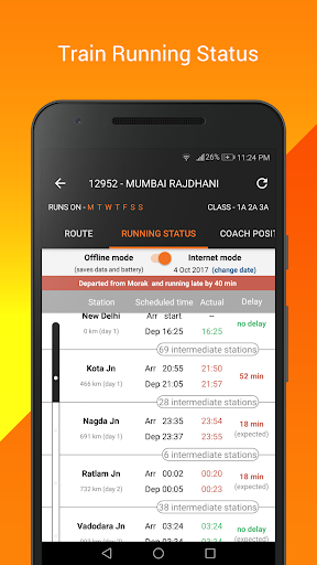 PNR Status, Train Running Status & Ticket Booking 8.4.0.4 screenshots 5