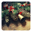 Vintage Christmas LWP icon