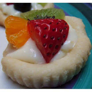 Kiwi Strawberry Flan.