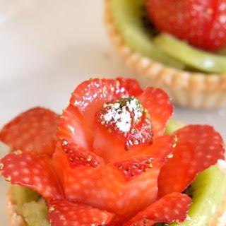 Strawberry Rose Tartlets