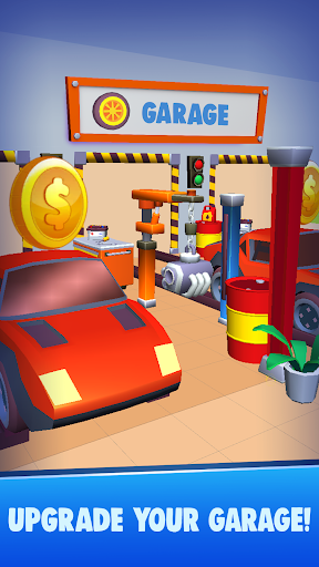 Code Triche Pit Crew Heroes - Idle Garage Racing APK MOD screenshots 2