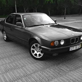 BMW E34 524 TDS by Edu Marques - Transportation Automobiles ( car, e34, cars, bmw e34, bmw, 524 tds, td, tds,  )