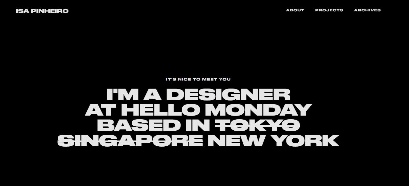 simple ux design portfolio