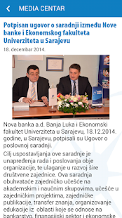 Nova banka- screenshot thumbnail