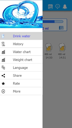 Water Drink Tracker H2O