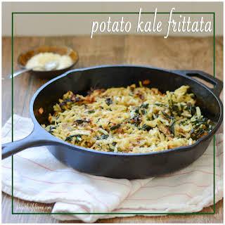 Potato Kale Frittata.