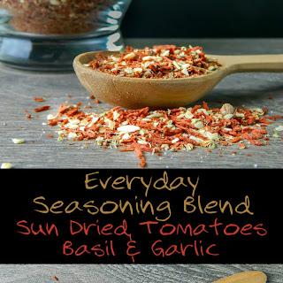 Everyday Seasoning Blend – Sun Dried Tomatoes, Basil & Garlic