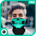 Cagoule Mask Half Face - Ghost Mask Photo Editor icon