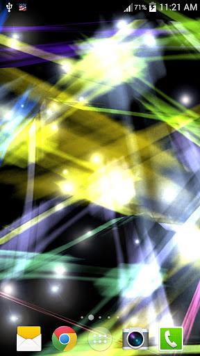 三維激光束動態壁紙