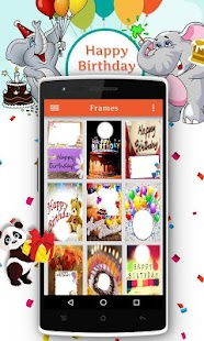 Birthday Photo Maker- screenshot thumbnail