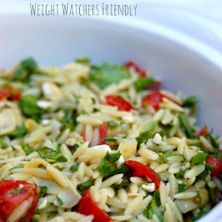 Weight Watchers Orzo Salad with Vegetables