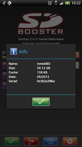 SD Booster screenshot 4