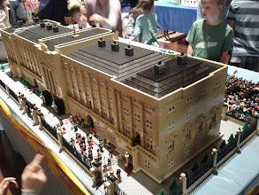 Photo: The back of Buckingham Palace.
