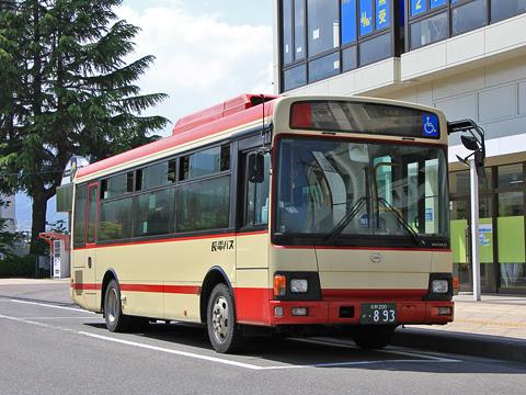 長電バス「中野・木島線」 ・893
