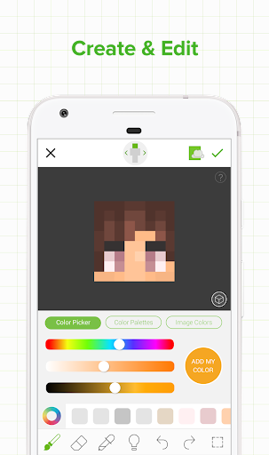 Skinseed for Minecraft for Android apk 2