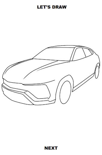 draw cars: suv screenshot 3
