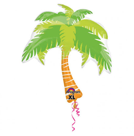 Folieballong - Palm 83 cm