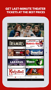 TodayTix – Theatre Tickets- screenshot thumbnail