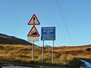 Photo: The foot of the Hardknott Pass....the best is yet to come !