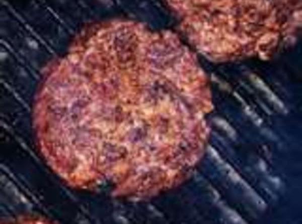 Bbq Grill Burgers Recipe