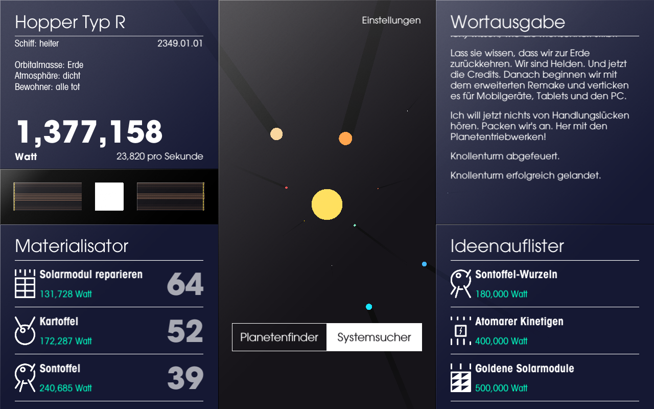 SPACEPLAN – Screenshot