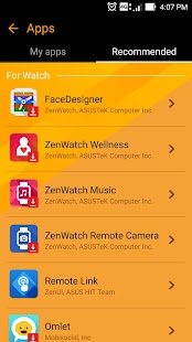 ZenWatch Manager Screenshot 5