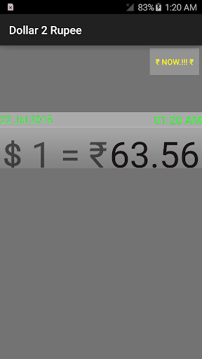 Dollar 2 Rupee