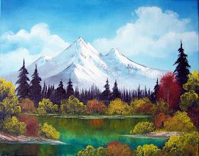 "Photo: 0201 Meadow Lake. Oil on canvas. Frame: no. Price: 16"" x 20"" $199.00"