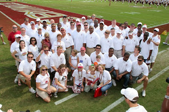 """Photo: Johnson Controls presents FSU with a gift for being an """"Energy Efficiency Hero"""" on the main campus."""