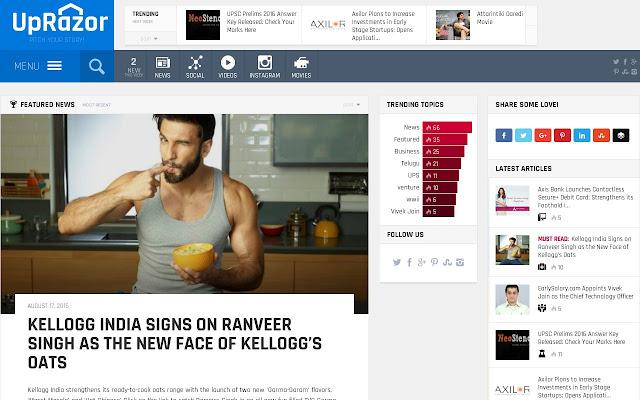 UpRazor - News, Viral and Social Media!