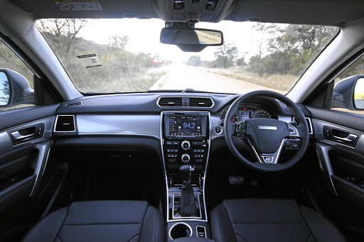 The interior of the Haval H2.   Picture :QUICKPIC