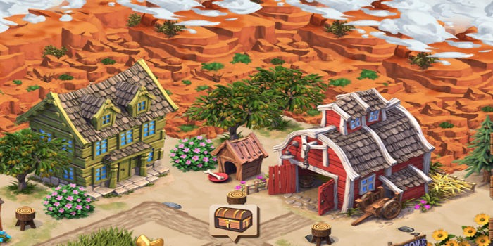 Screenshots of Westbound Build Magic City! for iPhone